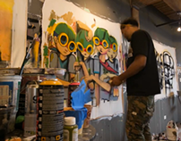 Hebru Brantley Timelapses