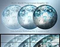 Multi-World Progression Graphic Kit