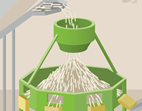 Lamb Weston French Fry Processing Illustration