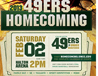 UNC Charlotte | Homecoming Branding 2013