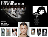 S/S 13 Trend Inspiration Board/Research