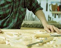 Ornamental Wood Carving