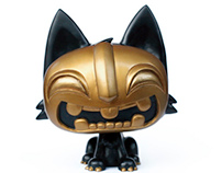 Tiki Kitty Vinyl Toy