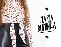 María Dominga - Campaign FW 2013 & Branding