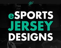 eSports Jersey Designs