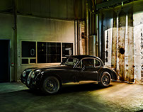 A Thunder Cloud From Steel - Jaguar XK140 FHC!