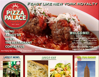 New York Pizza Palace Website