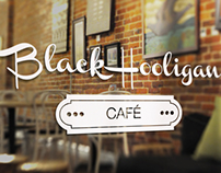 Black Hooligan Café Branding