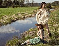 Summer fashion story for DUJOUR