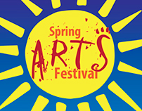 Spring Arts Festival Posters