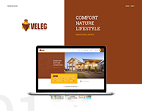 VELEG REALESTATE | WEBSITE DESIGN | 2017