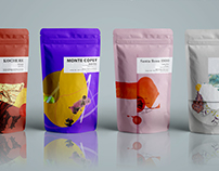 Conceptual specialty coffee packaging system