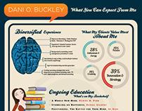 Personal Marketing Resume - Dani Buckley