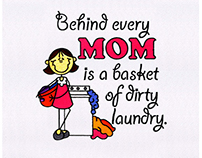FUNNILY CELEBRATING MOM EMBROIDERY DESIGN
