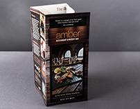 Amber Restaurant - Leaflet