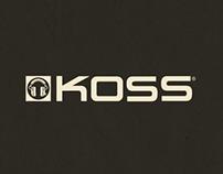 Koss Rebranding