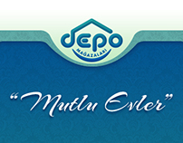 Depo Halı & Ev Tekstili Mağazası - Web Sitesi