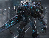 Creating a Sci-Fi Robot Warrior in ZBrush