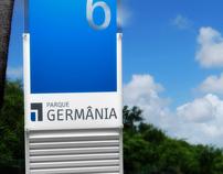 Sinalização Parque Germânia