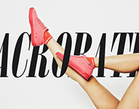 Acrobatic in Shoes UP Mag