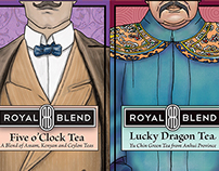 Royal Blend Tea | Packaging, Identity, Illustration