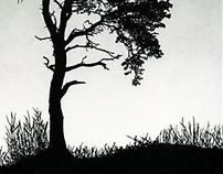 Scots Pine Papercut