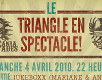 Show Promoting. Le Triangle en Spectacle!