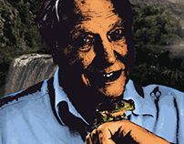 David Attenborough Graphic Novel