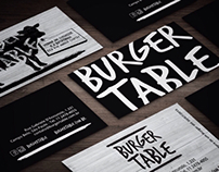 Burger Table