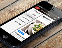 Responsive version of a food ordering system