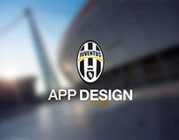 Juventus App Design