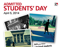 Admitted Students Day Social Media Flyer
