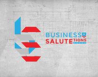 Business SALUTEtions // Logo + Brand Identity