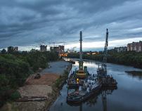 Moscow (Shmitovskiy bridge) 2016