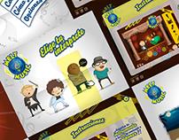 Melt Music - app, juego y personajes