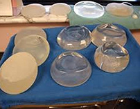 Different kinds of breast implants