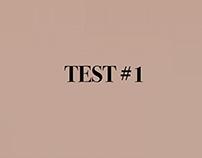 Test #1 Video