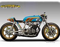 HONDA CB 750 CAFE' RACER PROJECTS