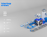 Startup Crawl.