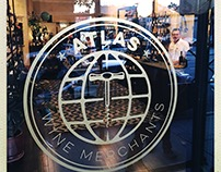 Atlas Wine Merchants: Logo and businesscard