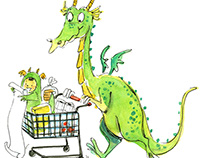 Supermarket dragon