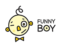 cartoon funny boy