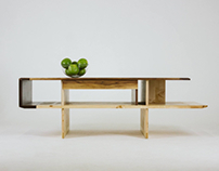 Coffee table Argosy от Fly Massive Millworks
