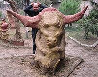 BULL - MUD sculptures - Atölye Çamur