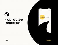 Shark Taxi App Redesign