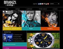 Branzi Orologi - Página Web