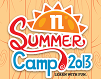 Summer Camp 2013 Typography