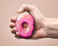 0 calories Donut