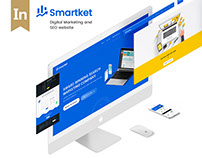 Smartket- Digital Marketing & SEO Website