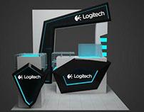 logitech promo booth